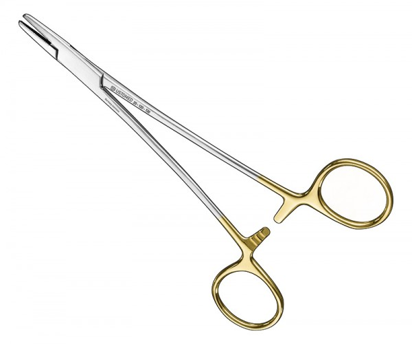 MAYO-HEGAR, needle holder, 16 cm, TC