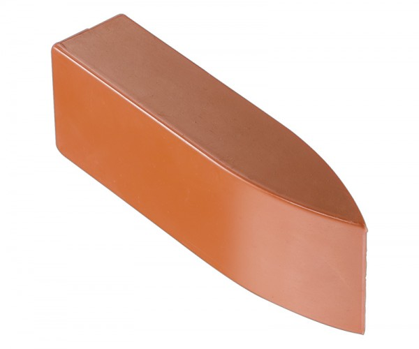 Mouth wedge, special hard-rubber