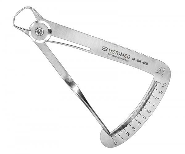IWANSON, caliper, meas.range 0-10 mm - only for comparitive measurements -