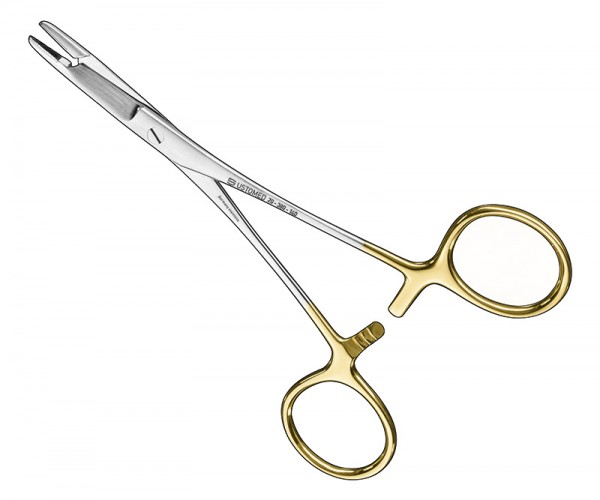 OLSEN-HEGAR, needle holder w.scrs.14cm, TC