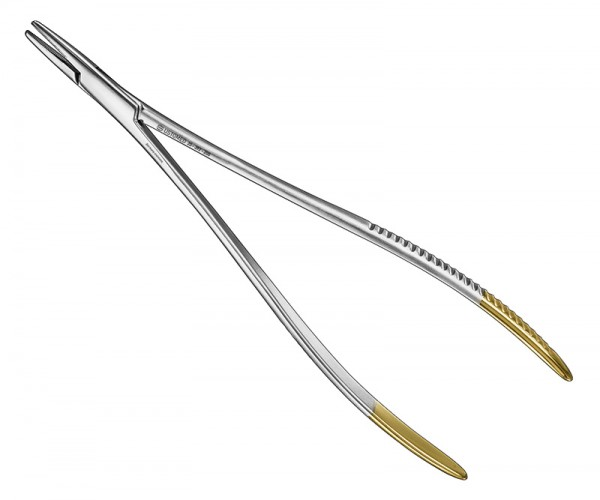 LANGENBECK, needle holder, 20 cm, TC